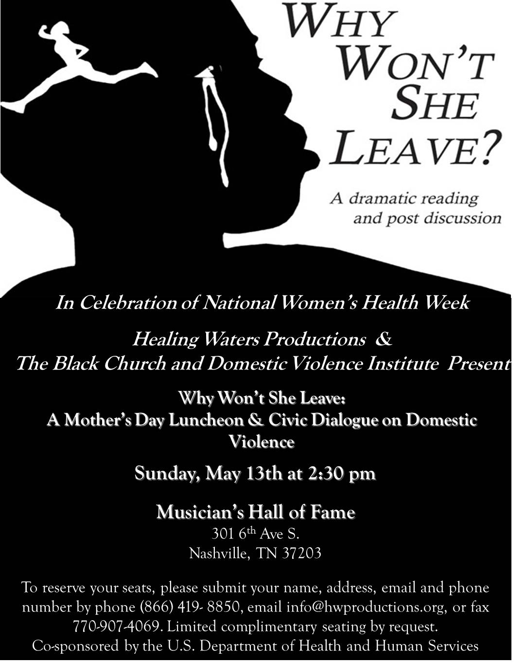 A Mother's Day Lunch & Civic Dialogue on Domestic Violence ...