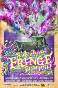 Sideshow Fringe Festival July 31 - August 3rd, Nashville, TN